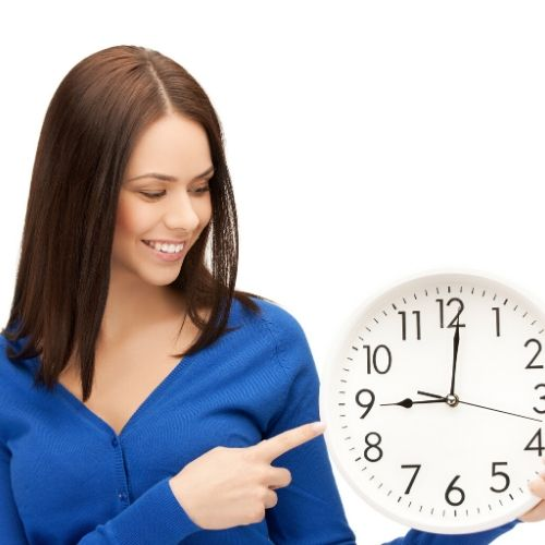 using the clock wisely is a great time management strategy
