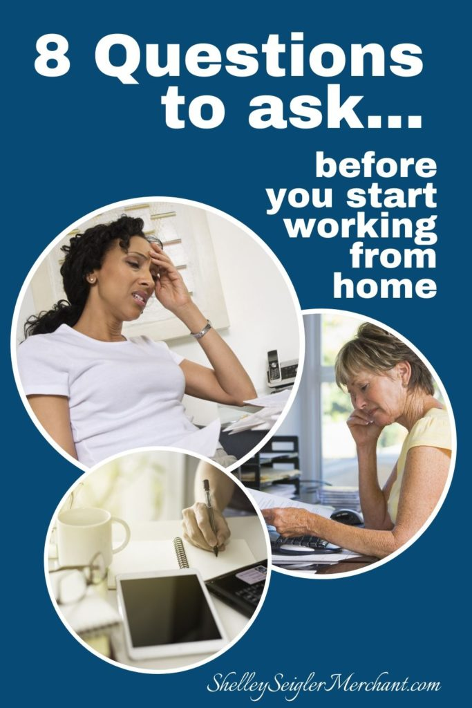 questions to ask before working from home