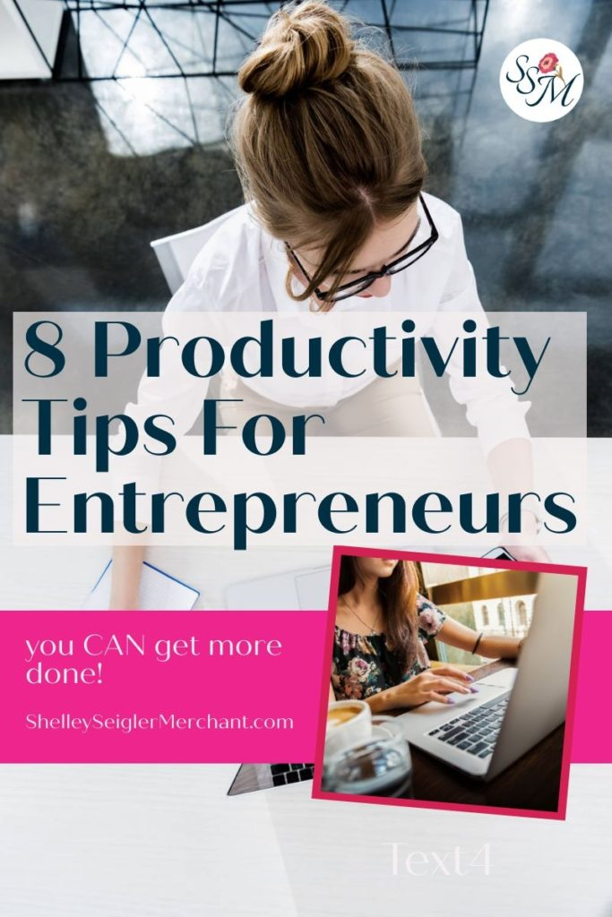 Easy to use technology is one productivity tip for entrepreneurs