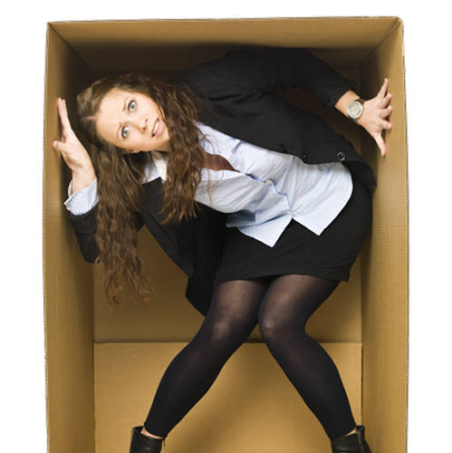 feeling stuck in life and boxed in